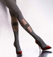 Fiore Sativa Black Lurex Tights
